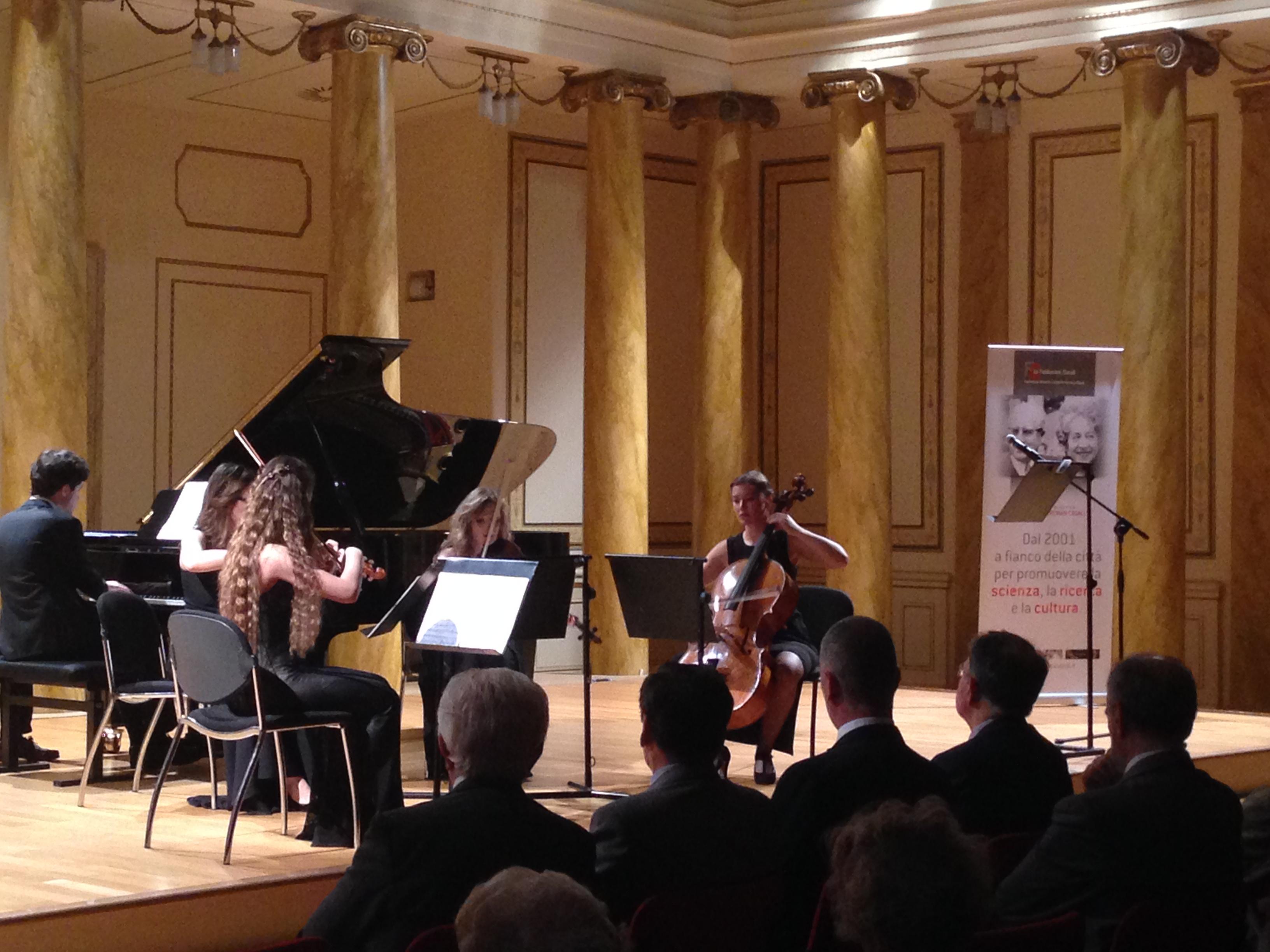 Concerto per 70° anniversario Circolo della Cultura e delle Arti Trieste