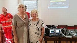 Presidente del Comitato di Beneficenza della Fondazione Benefica Alberto e Kathleen Casali e Presidente della Croce Rossa Italiana sezione di Ts